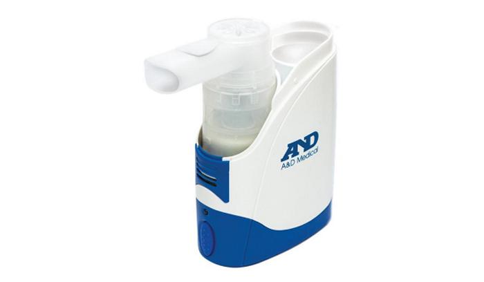 Компрессорный небулайзер AND – компактный медицинский прибор для проведения ингаляций в любых условиях